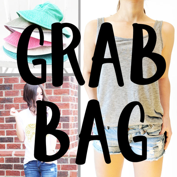 Mini Grab Bag!  TWO clothing items + ONE accessory
