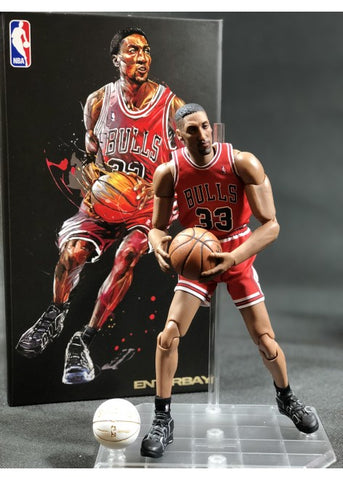 Enterbay NBA Collection - Scottie Pippen 1/9 scale (Series 2)