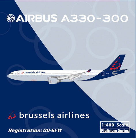 1/400 BRUSSELS A330-300 OO-SFW