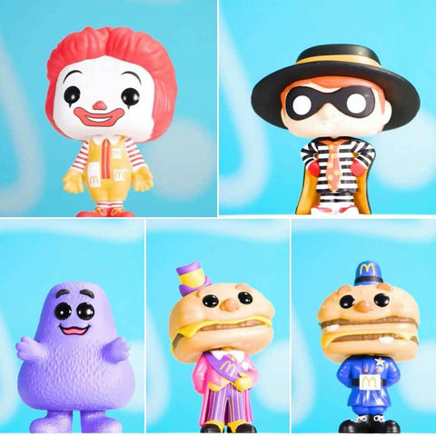 Funko Pop! Ad Icons: Mcdonald's Set of 5