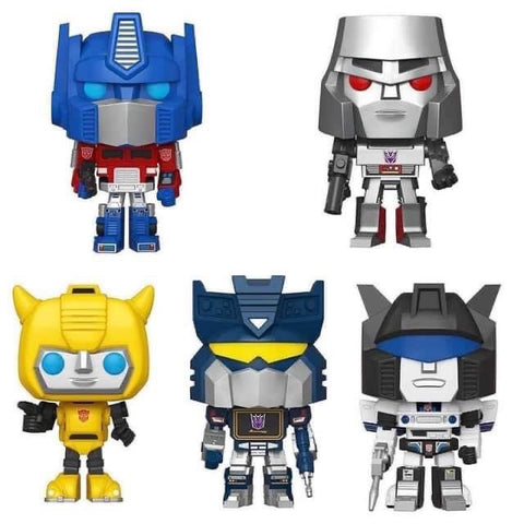 Funko Pop! Vinyl: Transformers Set of 5