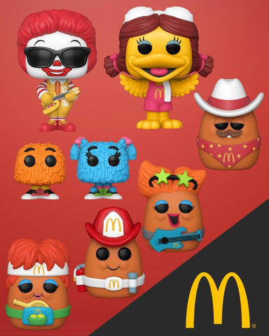 Funko Pop! Ad Icons: McDonalds Set