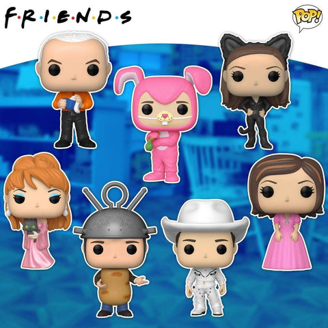 Funko Pop! TV: Friends set of 7