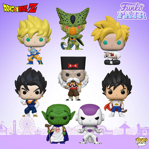 Funko Pop! Animation: DBZ Set of 8