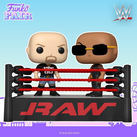 Pop! Moment: WWE- The Rock vs Stone Cold in Wrestling Ring