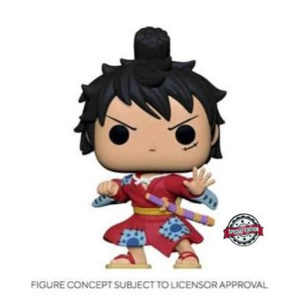 Funko Pop! Animation: One Piece - Luffy in Kimono (Metallic) (Special Edition)