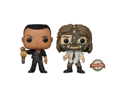 Pop! 2PK The Rock vs. Mankind (Special Edition)