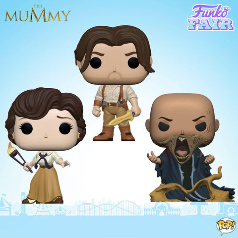 Funko Pop! Movies: The Mummy Set of 3