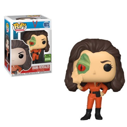 Funko Pop! TV: 2021 ECCC Funko Shared Exclusive - Diana with Lizard Face