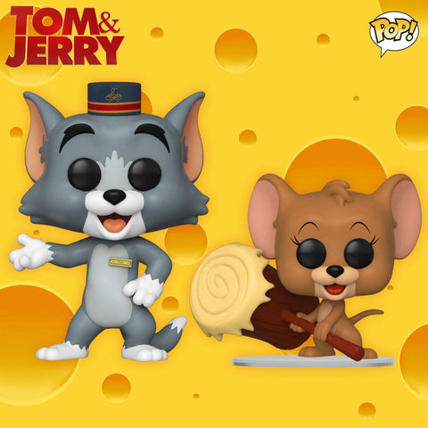 Funko Pop! Movies: Tom & Jerry Set of 2