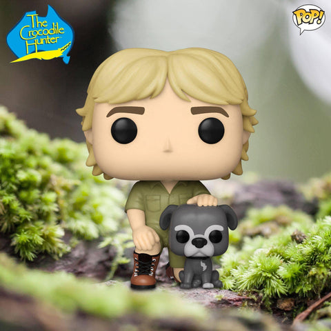 Funko Pop! TV: Crocodile Hunter- Steve Irwin w/ Sui