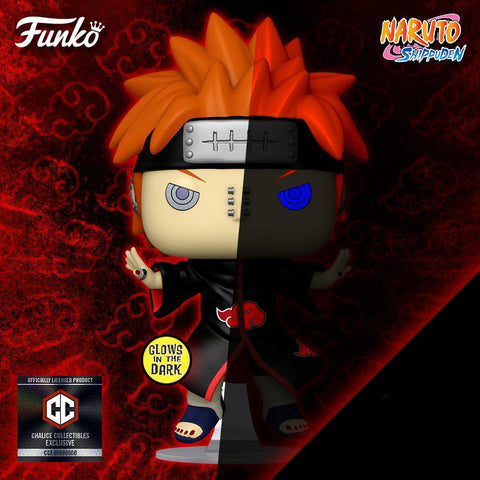 Funko Pop! Animation: Naruto Pain (GITD) (Chalice Exclusive Sticker)