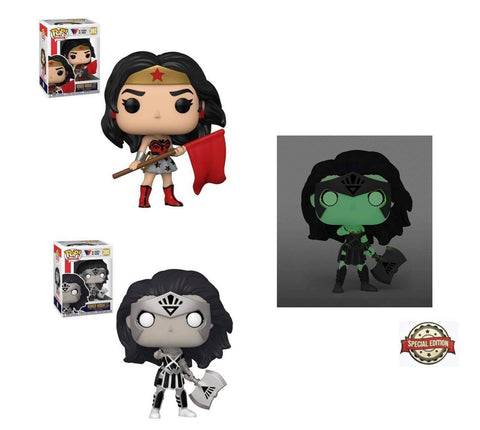 Funko Pop! Heroes: Wonder Woman 80th Anniversary (Set of 3)