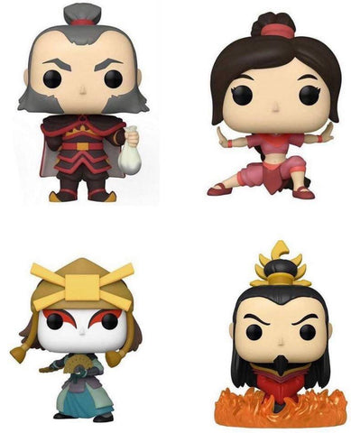 Funko Pop! Animation: Avatar Set of 4