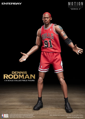 Motion Masterpiece - NBA Collection - Dennis Rodman Action Figure