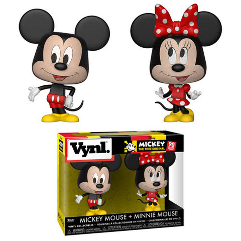 VYNL: Disney-2PK-Mickey & Minnie