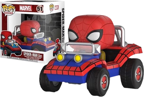 POP Rides: Marvel Comics - Spidermobile (IE)