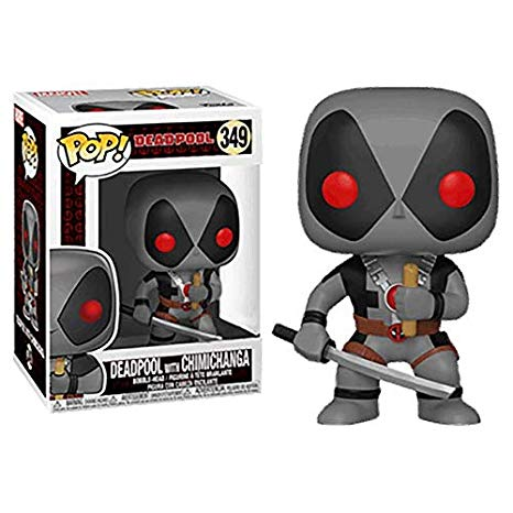 Pop Marvel: Deadpool Playtime - Deadpool w/ Chimichanga