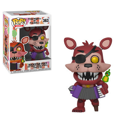 Pop! Games: FNAF Pizza - Rockstar Foxy