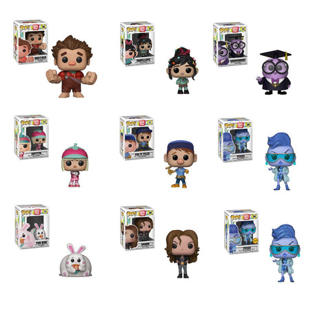 Funko Chase bundle - Pop Disney: Wreck-It Ralph 2 (set of 9)