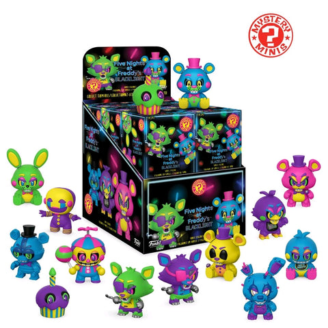 Mystery Mini: Five Nights at Freddy's - Black Light