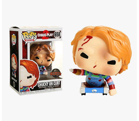 POP Movies: Child's Play - Chucky on Cart