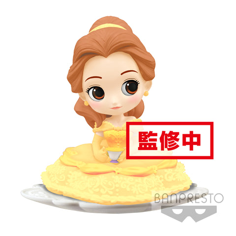 Q POSKET Sugirly Disney Characters-Belle-(B:Milky Color Ver)