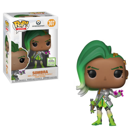 Pop! Games: 2019 ECCC - Overwatch Sombra (Glitch)