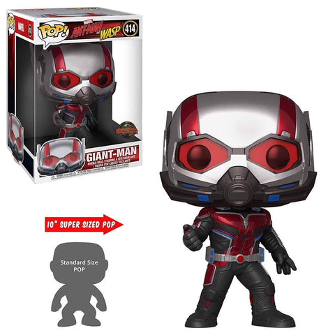 "Pop! Marvel: Ant-Man & The Wasp - 10"" Giant Man w/ Hobbiestock Premium 10"" Protector"