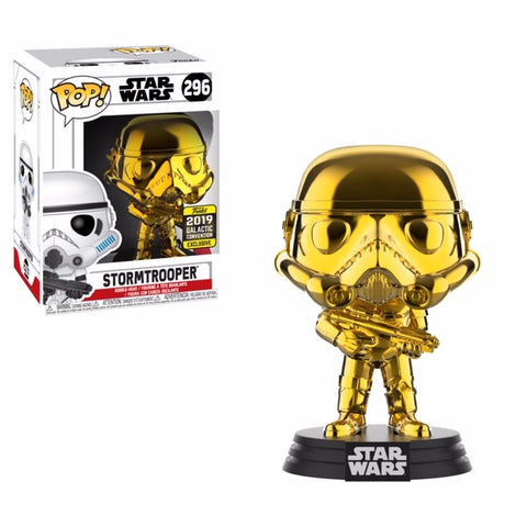 Star Wars 2019 Shared Exclusive: Stormtrooper Gold Chrome