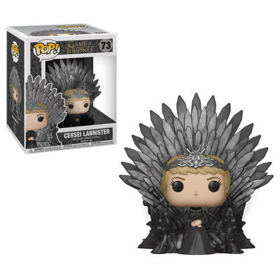 POP Deluxe: GOT S10 - Cersei Lannister Sitting on Throne