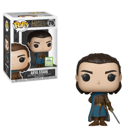 Pop! Game of Throne: 2019 ECCC Arya Stark