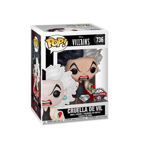 Pop Disney: 101 Dalmatians - Cruella (DGLT) IE