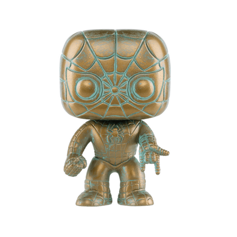 Pop! Marvel: Marvel 80th - Spiderman (Patina) (Exclusive)