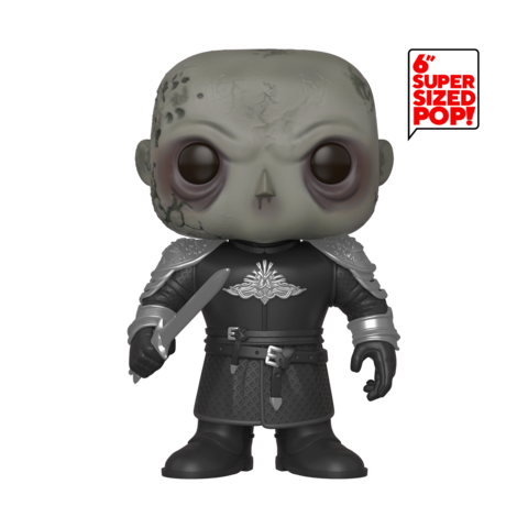 "Pop! TV: Game of Thrones - 6"" The Mountain (Unmasked)"