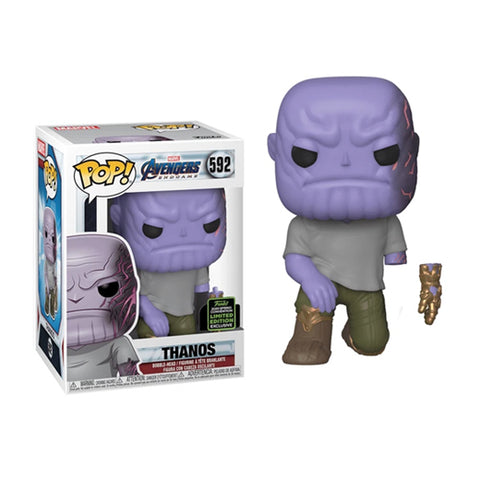 Funko Pop! Marvel: 2020 ECCC Funko Shared Exclusive - Avengers Endgame - Thanos Kneeled