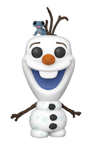 POP Disney: Frozen2- Olaf w/ Fire Salamander