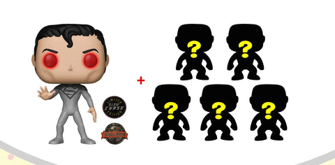 Pop DC Heroes: Superman Flashpoint (IE) chase + 5 random pops