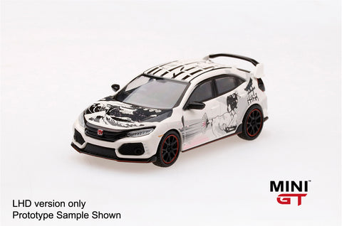 1/64 Honda Civic Type R (FK8) Art Car Manga 2018 Paris Autoshow