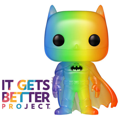 Pop! Heroes: Pride 2020 - Batman (RNBW)