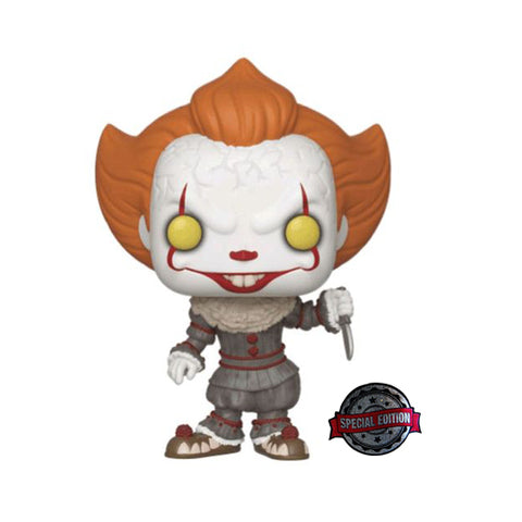 Pop! Movies: IT Chapter 2 - Pennywise w/ Blade (Exclusive)