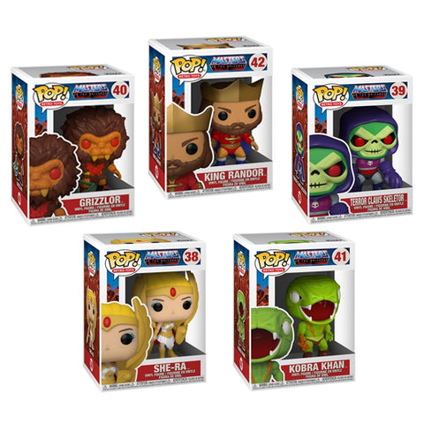 Funko Pop! Retro Toys: Masters of the Universe set of 5