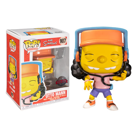 Funko Pop! TV: Simpsons - Otto Mann (Special Edition)