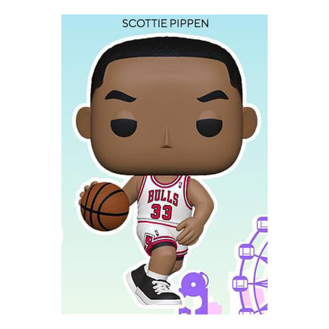 Funko Pop! NBA: Legends- Scottie Pippen (Bulls Home)