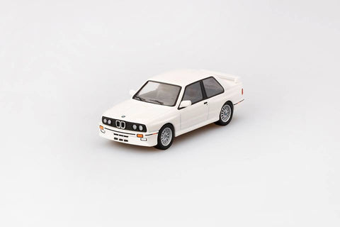 1/64 BMW M3 (E30)  Alpine White LHD