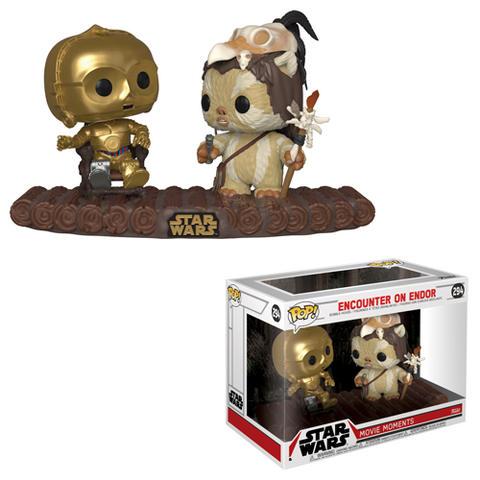 Pop! Star Wars: Movie Moment - C-3PO on throne
