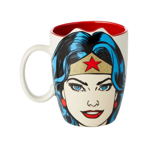 DC Wonder Woman Sculpt Mug