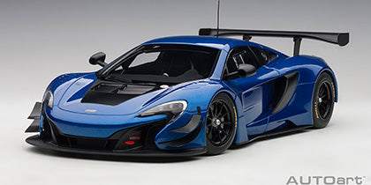 1/18 Mclaren 650S GT3 (Blue/Black Accent)