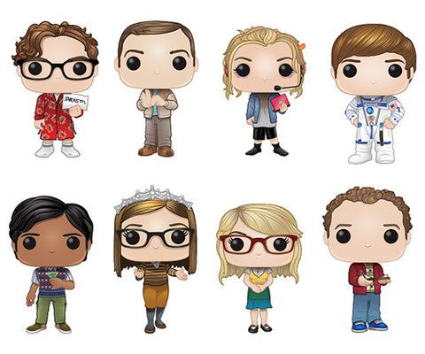 Big Bang Theory Season 2 (Set of 8)