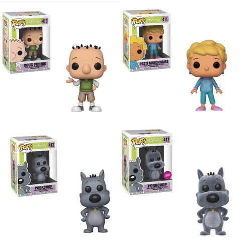 Funko Chase Bundle - Pop Disney: Doug S1 (Set of 4)